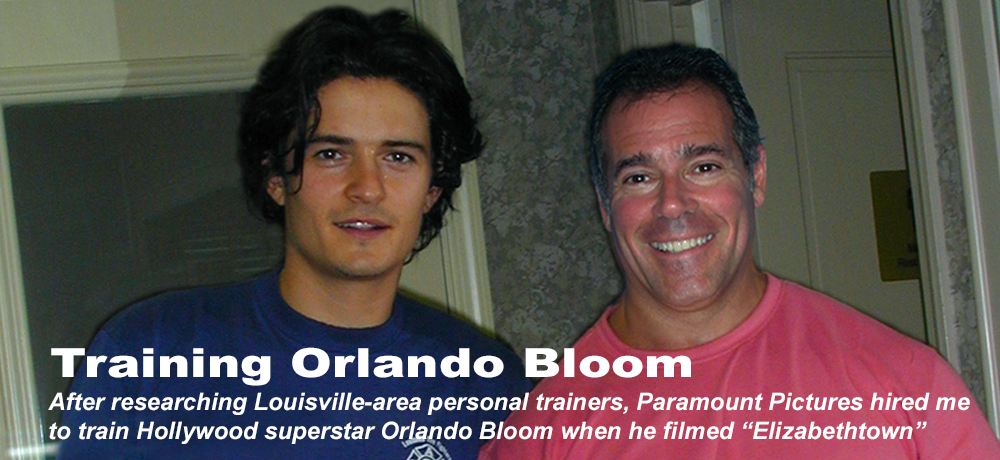 Training Orlando Bloom